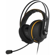 Игровые наушники ASUS TUF Gaming H7 чёрно-жёлтый 90YH01MY-B8UA00