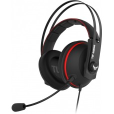 Игровые наушники ASUS TUF Gaming H7 чёрно-красный 90YH01VR-B8UA00