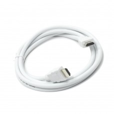 Кабель HDMI-HDMI TV-COM 19M. 1.4V. белый (1 м)