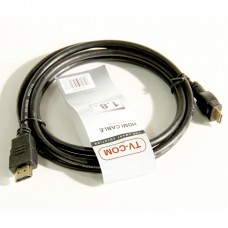 Кабель HDMI-miniHDMI TV-COM CG580M. 19M. 1.4V. черный (1.8 м)