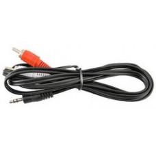Кабель соединительный Telecom 3.5 jack (m) - 2xrca (m). стерео. аудио. 3м .tav7183-3m. TAV7183-3M