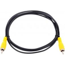 Кабель соединительный rca (m) - rca (m) черный 2m. Telecom .tav4158-2m. TAV4158-2M