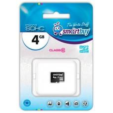 Память MicroSDHC 004Gb Smart Buy