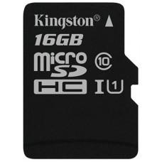 Память MicroSDHC 016Gb KINGSTON CLASS10 UHS-I
