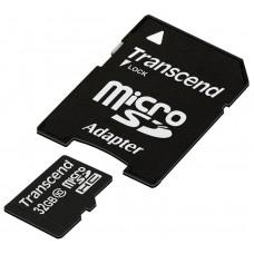 Память MicroSDHC 032Gb TRANSCEND CLASS 10