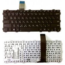Клавиатура для ноутбука Asus Eee PC 1025С черная. русская. без рамки