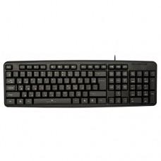 Клавиатура Oklick 130m black usb 337077