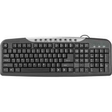 Клавиатура Defender usb hm-830 ru black 45830