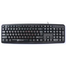 Клавиатура Oklick 90m черный usb HK-01