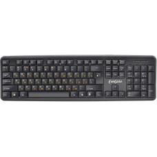 Клавиатура Exegate ly-331. .usb. шнур 1.5м. черный. 104кл. enter большой.. color box EX263905RUS