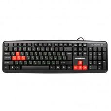 Клавиатура Nakatomi kn-02u usb черный-красный