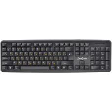 Клавиатура ExeGate EX279938RUS LY-331L2, (USB, шнур 2,2м, черная,  104кл, Enter большой), Color box