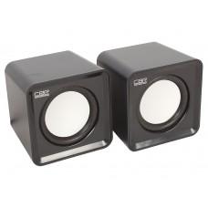 Колонки CBR CMS 90, Black, динамики 4,5 см., USB