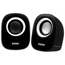 Колонки Bbk ca-303s 2.0 черный/белый 3вт CA-303Sчерный/белый