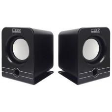 Колонки Cbr cms 303 черный CMS303Black
