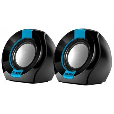 Колонки Sven 150 black-blue usb. 2.0. мощность 2x2.5 вт(rms) SV-013509