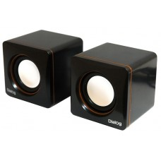Колонки Dialog colibri ac-04up black-orange - 2.0. 6w rms. черно-оранжевые. пит. от usb AC-04UP black-orange