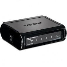 Коммутатор Trendnet te100-s5 5-port 10/100mbps fast ethernet switch TE100-S5