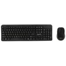 Беспроводной набор GEMBIRD KBS-7002.черный. 2.4ГГц/10м. 1600DPI.  мини-приемник- USB