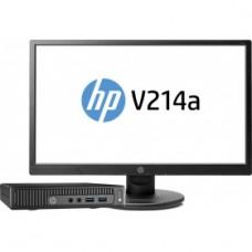 Комплект HP 260 G2 Mini P 4405U (2.1)/4Gb/500Gb 5.4k/ HDG510/Win10 SL/GbitEth/WiFi/BT/клав/мышь/черный/ монитор в комплекте 20.7/3KU78ES 3KU78ES