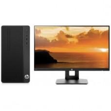 Комплект HP 290 G1 MT i3 7100 (3.9)/4Gb/500Gb 7.2k/HDG630/DVDRW/CR/Windows 10 Single Language 64/GbitEth/180W/клавиатура/мышь/черный/монитор в комплек 3VA23ES
