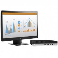 Комплект HP Bundle ProDesk 400 G4 Mini Core i3-8100T.4GB.500GB.USB kbd/mouse.Stand.HDMI Port.Quick Release.Dust Filter.Intel 9560 nvP BT 5JP60EA