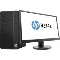 Настольный компьютер HP 290 G2 MT Bundle + 21'' монитор V214a Intel Core i3 8100/4Gb/500Gb/DVD-RW/Intel UHD Graphics 630/Windows 10 Pro 4YV40EA