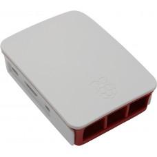 Корпус RA129 red-white для микрокомпьютера Raspberry Pi 3. ACD Red+White ABS Plastic case for Raspberry Pi 3