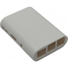 Корпус RA075 white для микрокомпьютера Raspberry Pi 3. RA075 Корпус ACD White ABS Plastic Injection Molding case with Stripe for Raspberry Pi 3