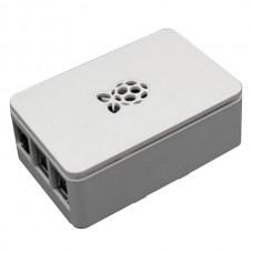 Корпус RA178 ACD White ABS Plastic case with Logo for Raspberry Pi 3