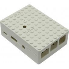 Корпус RA181 white для микрокомпьютера Raspberry Pi 3 ACD White ABS Plastic Building Block case for Raspberry Pi 3