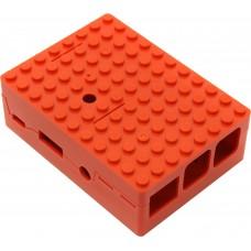 Корпус RA183 red для микрокомпьютера Raspberry Pi 3 ACD Red ABS Plastic Building Block case for Raspberry Pi 3