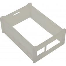 Корпус ACD RA147 Acrylic Case w/ 3.5 inch LCD hole for Raspberry Pi 3