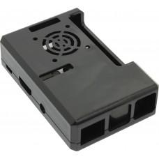 Корпус RA187 Корпус ACD Black ABS Plastic Case w/GPIO port hole and Fan holes for Raspberry Pi 3