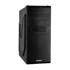 Корпус ExeGate UN-603 w/o PSU Black Miditower ATX. .без БП. 2*USB. Audio EX269434RUS EX269434RUS
