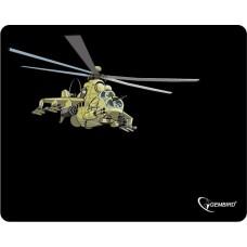 Коврик для мыши Gembird MP-GAME9. рисунок- ''вертолет''. размеры 250*200*3мм MP-GAME9