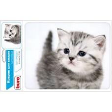 Коврик для мыши Buro BU-M40087 рисунок/котенок BU-M40087