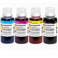 Чернила Canon/HP/Epson/Lexmark универсальные 0.1л Colouring Cyan