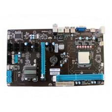 Материнская плата ITZR HM65-BTC-COMBO + процессор Intel Celeron dual core без кулера (LGA775). 1xPCI-Ex16. 7xPCI-Ex1. Rtl HM65-BTC-COMBOWITHCELERONCPU