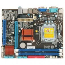 Материнская плата Esonic G41CRL3, Socket 775, Intel®G41+ICH7, 2xDDR2-800, D-SUB, 1xPCI-Ex16, 1xPCI, 4xSATA2, 1xIDE, 6 Ch Audio, GLan, (6+2)xUSB2.0, COM, mATX, RTL