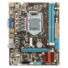 Материнская плата Esonic H55KEL, Socket 1156, Intel®HM55, 2xDDR3-1333, D-SUB, 1xPCI-Ex16, 1xPCI, 4xSATA3, 6 Ch Audio, Lan, (6+4)xUSB2.0, mATX, RTL