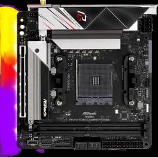 Плата материнская Asrock Asrock B550 PHANTOM GAMING-ITX/AX , AM4, AMD B550, ATX, BOX