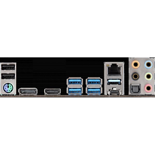 Материнская плата ASROCK B450M STEEL LEGEND [Socket AM4. AMD B450. 4xDDR4. USB3.1. Type-C. HDMI. DisplayPort. подсветка. mATX]