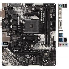 Плата материнская Asrock Asrock A320M-HDV R4.0, AM4, AMD A320, mATX, Bulk