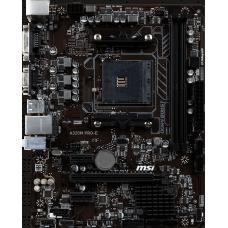 Материнская плата MSI A320M PRO-E / AMD A320 AM4 2xDDR4-3200 1xPCIEX16 2xPCIEX1 4xSATA 4xUSB3.1 2xUSB2.0 DVI VGA mATX / RTL