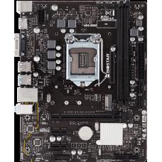 Материнская плата Biostar H410MH (Socket-1200, Intel H410, 2xDDR4, 2xPCI-E+ PCI-E 16x, 4xSATA+ m.2 , HDMI+VGA, 2xPS/2, 6