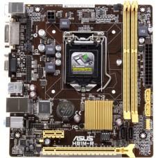 Материнская плата Asus h81m-r/c/si soc-1150 Intel h81 2xddr3 matx ac`97 8ch(7.1) gblan+vga+dvi white box H81M-R/C/SI