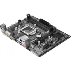 Материнская плата Asrock H81M-DGS R2.0 Soc-1150 iH81 DDR3 mATX AC`97 6ch GbLAN SATA3 VGA+DVI H81M-DGS R2.0