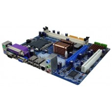 Материнская плата ITZR 761DAL [Socket 754. SiS761GX. SiS. 2x DDR 533-800 МГц. до 4 Гб. 2x SATA 150. 1x ATA 100. 2x PCI. 1x PCI-Ex16. 4x USB 2.0. 1x VGA (D-Sub). 2x PS/2. 1x Ethernet. Realtek HD Audio. 5.1. Realtek ALC655 . Realtek RTL8100C. 1000 Мбит/с. 2