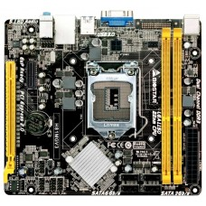 Материнская плата Biostar h81mgv3. socket 1150. Intel h81. 2xddr3-1600. 1xpci-ex16. 1xpci-e. 2xsata3. 2xsata2. d-sub. 6ch. 2xusb3. 4xusb2. matx. rtl H81MGV3
